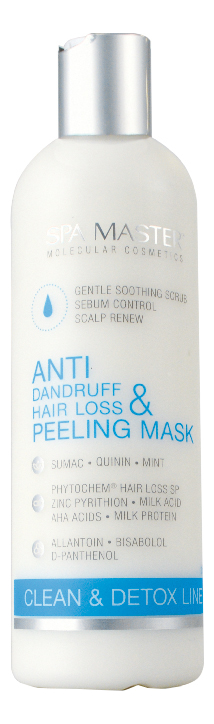 Маска-пилинг против перхоти и выпадения волос Anti-Dandruff & Hair Loss Peeling Mask 330мл