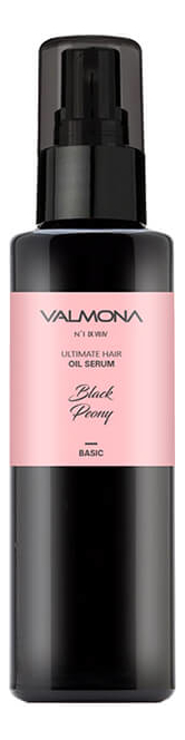 Масляная сыворотка для волос Valmona Ultimate Hair Oil Serum Black Peony 100мл (с ароматом черного пиона)