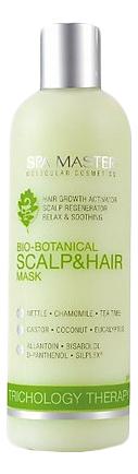 Купить Маска для кожи головы и волос Bio-Botanical Scalp & Hair Mask pH 4, 5 330мл, Маска для кожи головы и волос Bio-Botanical Scalp & Hair Mask pH 4, Spa Master Professional