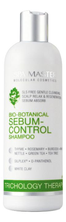 Фото - Шампунь для жирной кожи головы Bio-Botanical Sebum-Control Shampoo 330мл spa master шампунь repair line