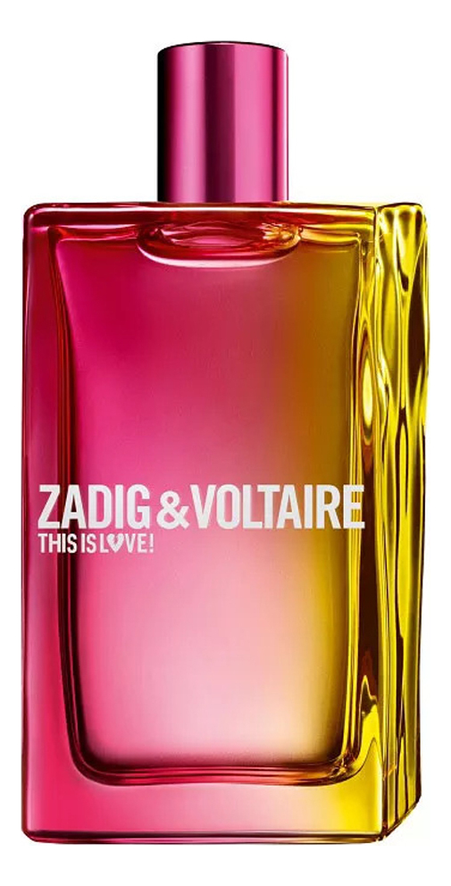 Zadig & Voltaire This Is Love! For Her: туалетная вода 100мл тестер