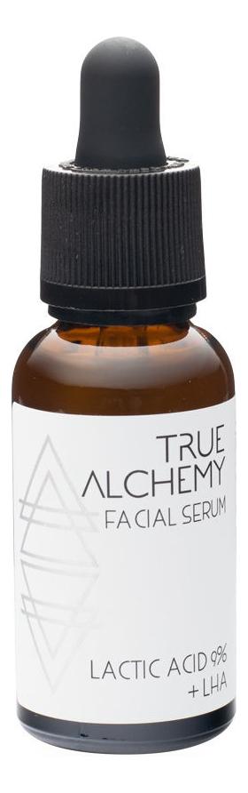 Сыворотка для лица Facial Serum Lactic Acid 9% + Lha 30мл true alchemy lactic acid 9%