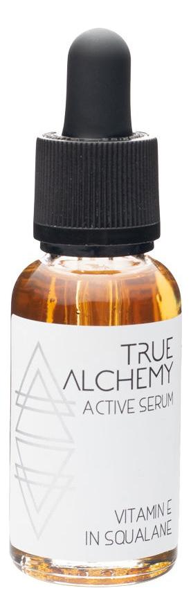 Сыворотка для лица Active Serum Vitamin E In Squalane 30мл true alchemy active serum aloe