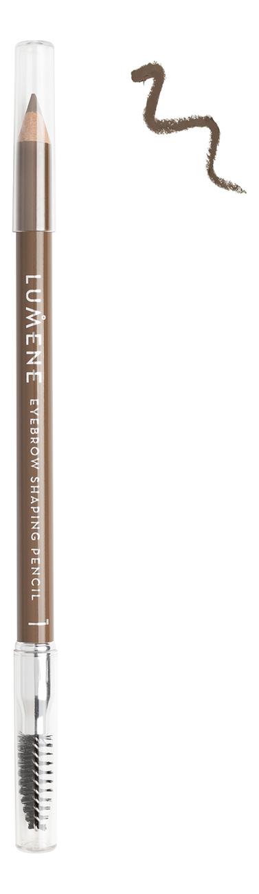 Карандаш для бровей Eyebrow Shaping Pencil 1,08г: 1 Светло-коричневый недорого