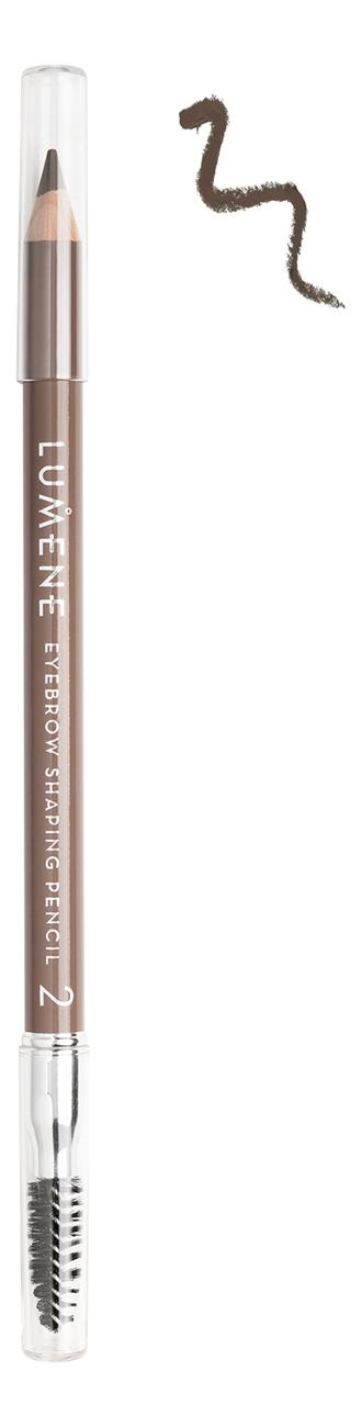 Купить Карандаш для бровей Eyebrow Shaping Pencil 1, 08г: 2 Коричневый, Lumene