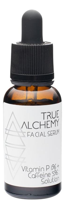 Сыворотка для лица Facial Serum Vitamin P 1% + Caffeine 5% Solution 30мл
