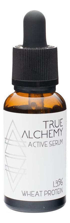 Сыворотка для лица Active Serum 1,3% Wheat Protein 30мл true alchemy 13% wheat protein