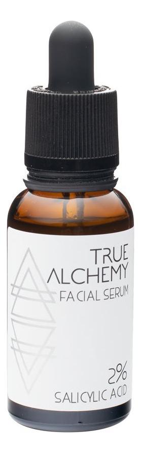 Сыворотка для лица Facial Serum 2% Salicylic Acid 30мл true alchemy lactic acid 9%
