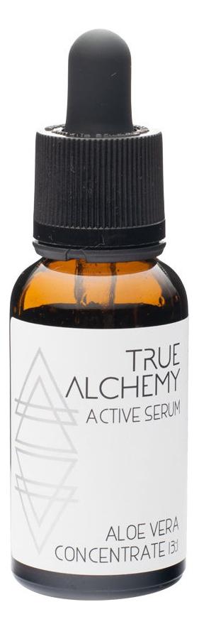 Сыворотка для лица Active Serum Aloe Vera Concentrate 13:1 30мл true alchemy active serum aloe