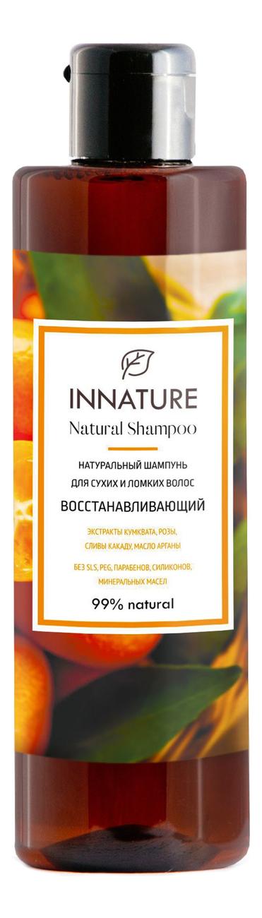 Купить Натуральный шампунь для волос Восстанавливающий Natural Shampoo 250мл, INNATURE
