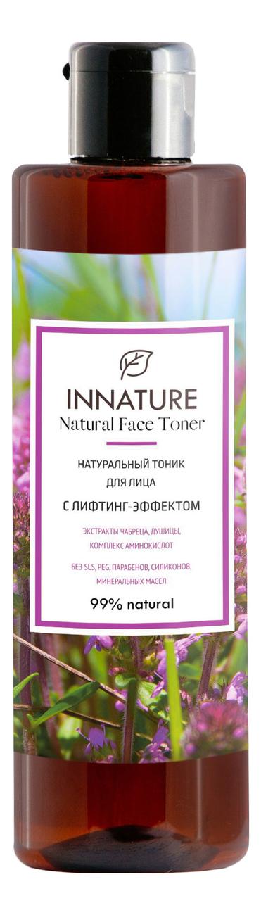 Купить Натуральный тоник для лица с лифтинг-эффектом Natural Face Toner 250мл, INNATURE