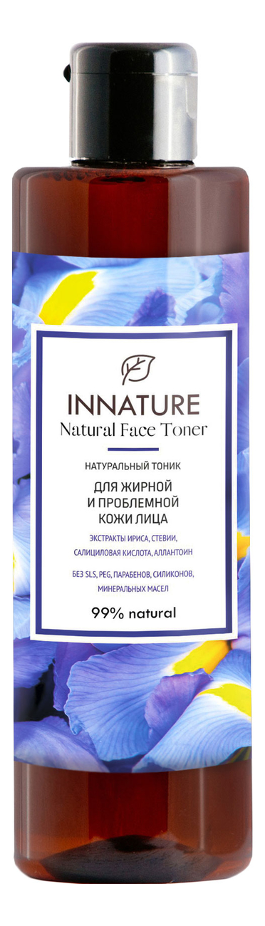 Купить Натуральный тоник для жирной и проблемной кожи лица Natural Face Toner 250мл, INNATURE