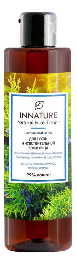 Купить Натуральный тоник для сухой и чувствительной кожи лица Natural Face Toner 250мл, INNATURE