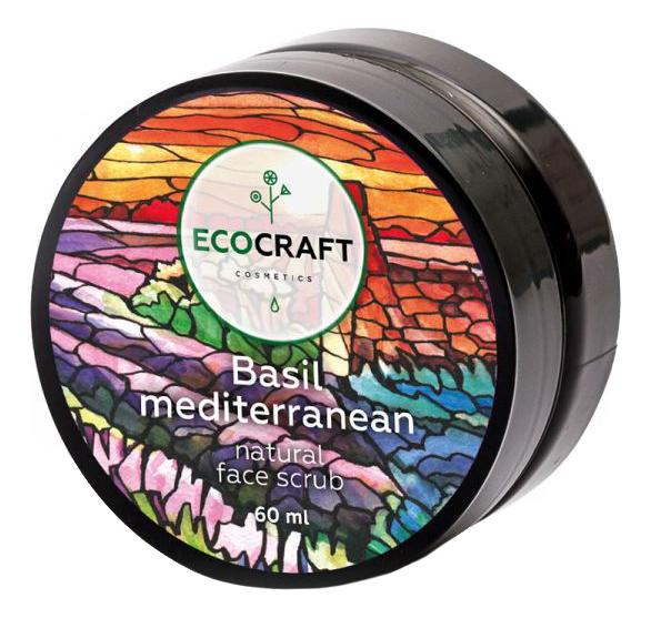 Купить Скраб для жирной и проблемной кожи Basil Mediterrenian 60мл, EcoCraft