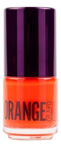 Фото - Стойкий лак для ногтей Extreme Fastfix Formulation 15мл: 58 Orange стойкий лак для ногтей extreme fastfix formulation 15мл 20 black