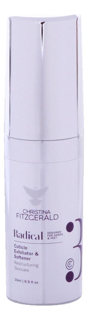 Купить Гель-эксфолиант смягчающий для кутикулы Radical Cuticle Exfoliator & Softener 15мл, Гель-эксфолиант смягчающий для кутикулы Radical Cuticle Exfoliator & Softener 15мл, Christina Fitzgerald