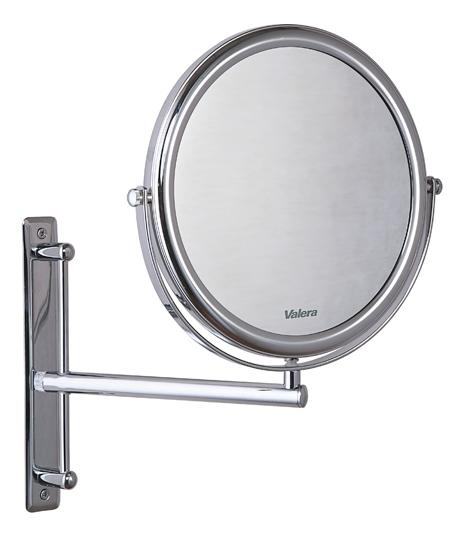 настенное зеркало с увеличительным эффектом и сенсорным включателем подсветки valera optima light smart 207 09 Двухстороннее настенное зеркало с увеличением Optima Bar 207.00