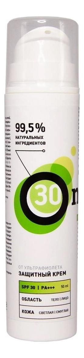 Купить Защитный крем для лица от ультрафиолета SPF30 50мл: Крем 50мл, Onme