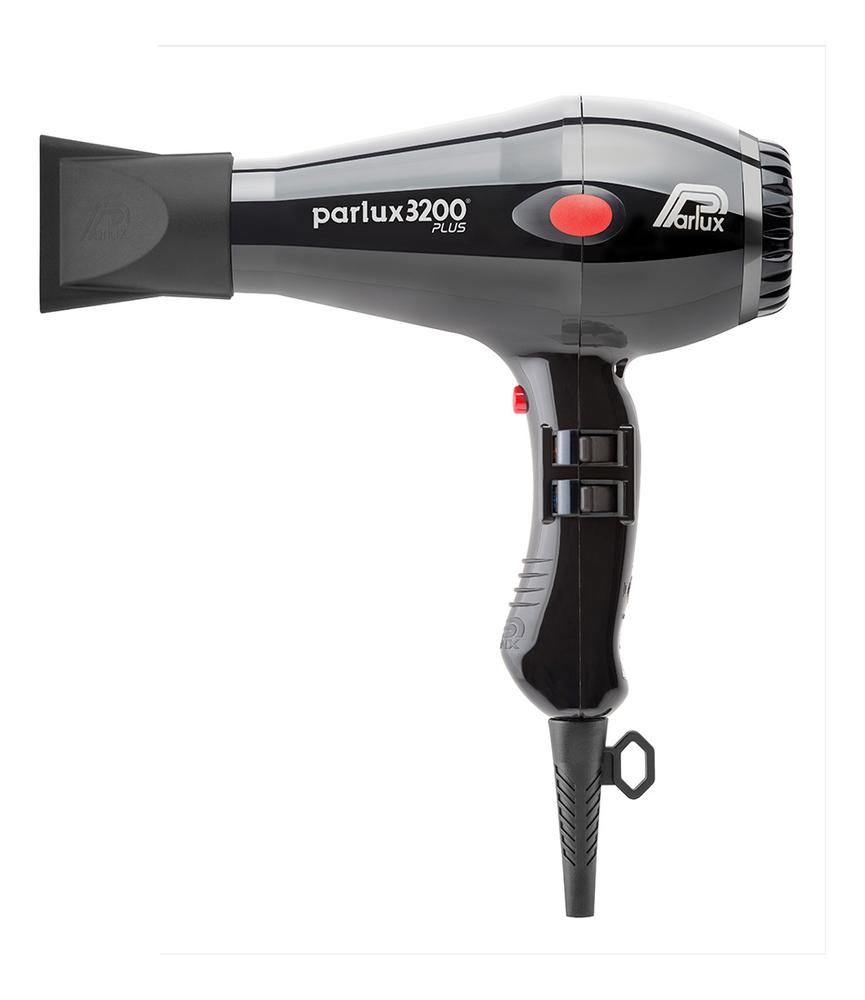 Фен для волос Compact 0901-3200 Plus Black 1900W (2 насадки, черный) фен для волос compact 0901 3200 plus red 1900w 2 насадки красный
