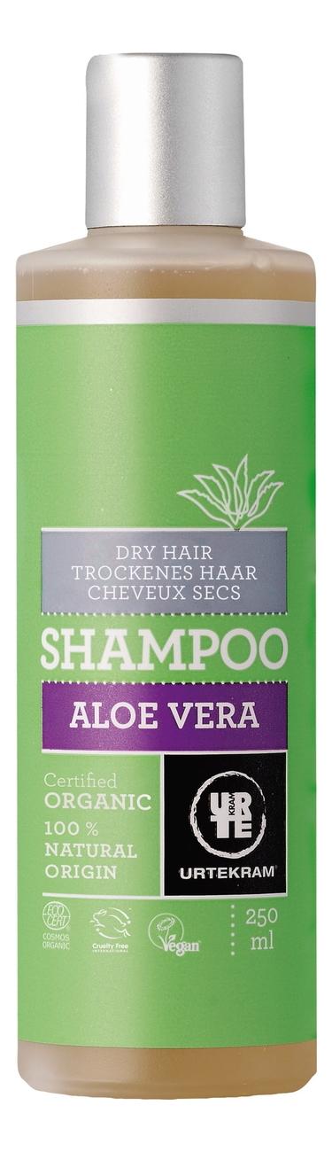 Шампунь для сухих волос с экстрактом алоэ вера Organic Aloe Vera Shampoo: Шампунь 250мл горячий воск для депиляции с экстрактом алоэ вера aloe vera 100г