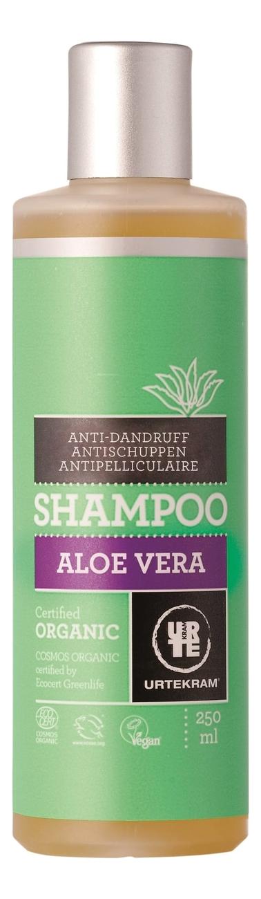 Шампунь для волос от перхоти с экстрактом алоэ вера Organic Aloe Vera Shampoo: Шампунь 250мл, Urtekram  - Купить