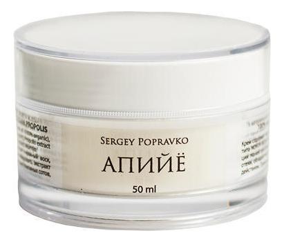 Лечебный крем для массажа ног Апийе 100% Natural: Крем 50мл