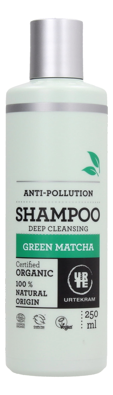 Купить Шампунь для волос с экстрактом зеленого чая Матча Organic Green Matcha Shampoo: Шампунь 250мл, Urtekram