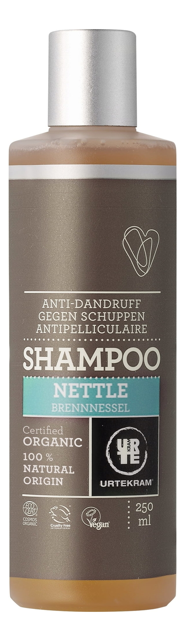 Шампунь для волос от перхоти с экстрактом крапивы Organic Nettle Shampoo: Шампунь 250мл шампунь с экстрактом ромашки shampoo chamomile 250мл