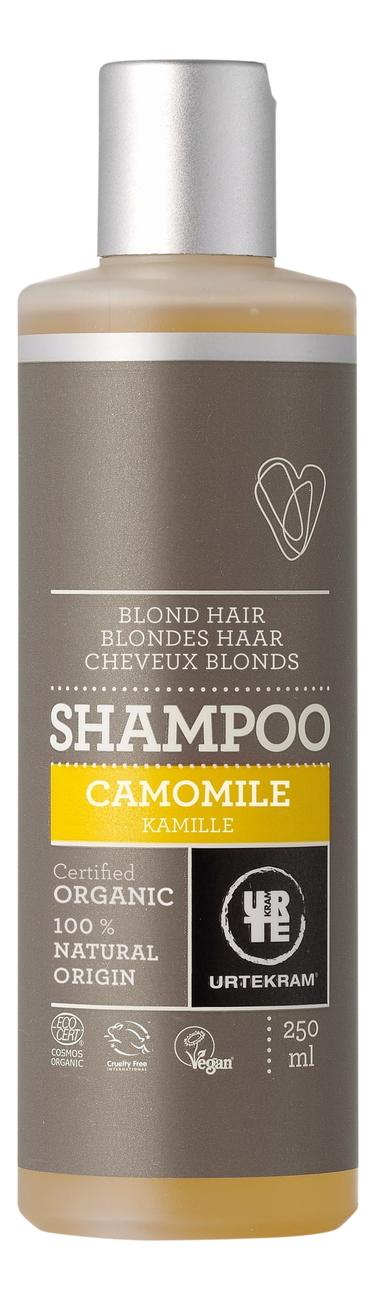 Шампунь для светлых волос с экстрактом ромашки Organic Camomile Shampoo: Шампунь 250мл шампунь с экстрактом ромашки shampoo chamomile 250мл