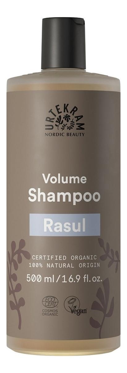Шампунь-объем для жирных волос с вулканической глиной Рассул Organic Rhassoul Volume Shampoo: Шампунь 500мл шампунь для волос l cosmetics organic clay с кембрийской глиной восстанавливающий с гидролатами