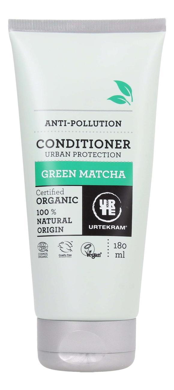 Купить Кондиционер для волос с экстрактом зеленого чая Матча Organic Green Matcha ShamConditionerpoo: Кондиционер 180мл, Urtekram