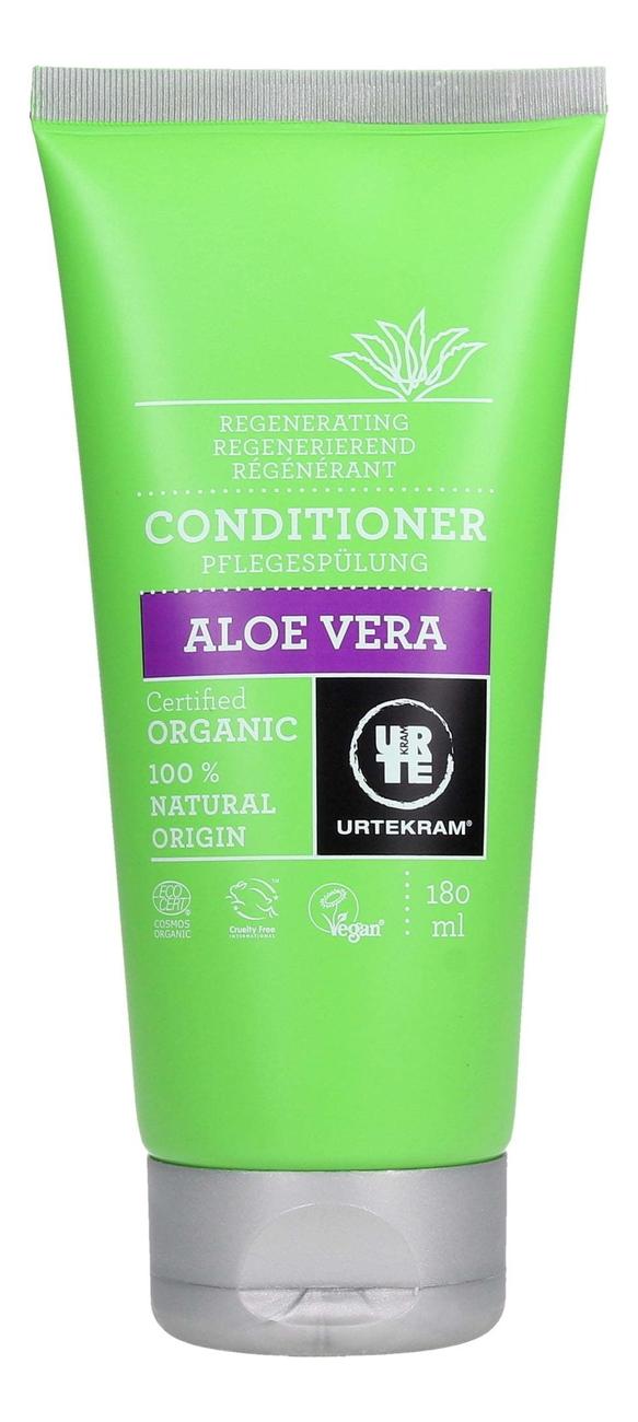 Фото - Кондиционер для волос с экстрактом алоэ вера Organic Aloe Vera Conditioner: Кондиционер 180мл кондиционер для волос с экстрактом розы organic rose conditioner кондиционер 180мл