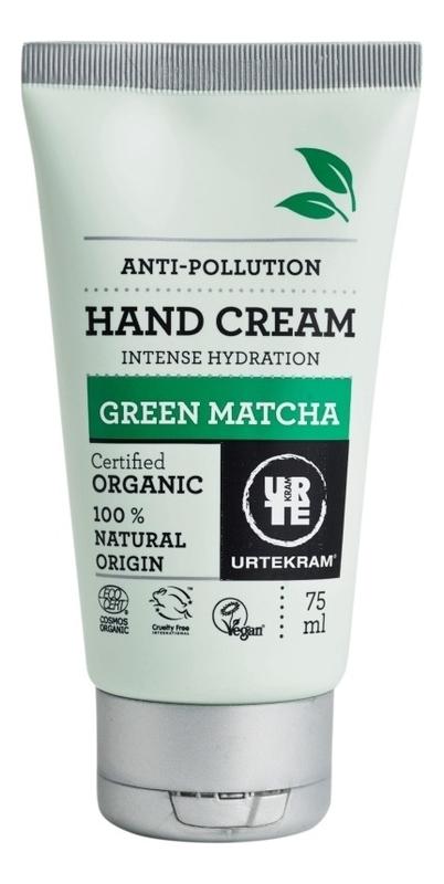 Купить Крем для рук с экстрактом зеленого чая Матча Organic Hand Cream Green Matcha 50мл, Urtekram