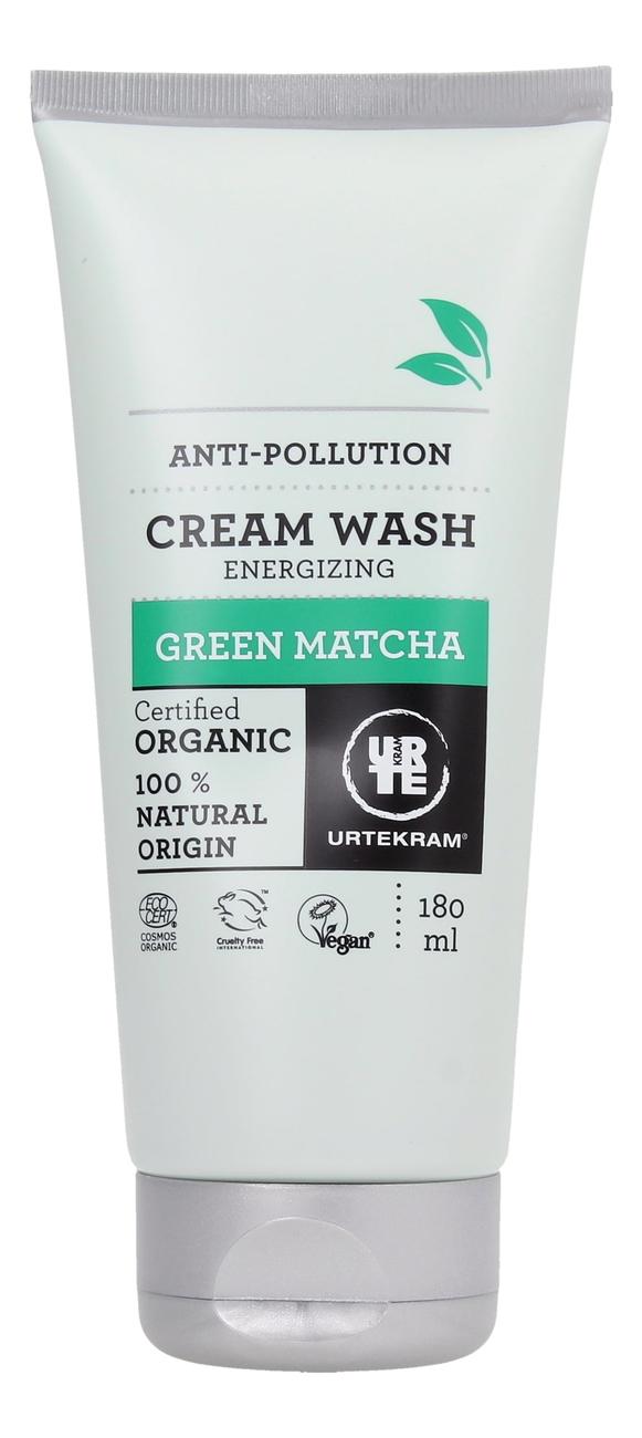 Купить Крем-гель для душа с экстрактом зеленого чая Матча Organic Cream Wash Green Matcha 180мл, Urtekram