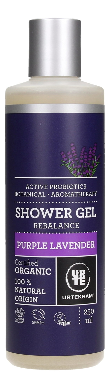 Фото - Гель для душа с экстрактом пурпурной лаванды Organic Shower Gel Purple Lavender: Гель 250мл гель для душа лаванда lavander shower gel гель 50мл