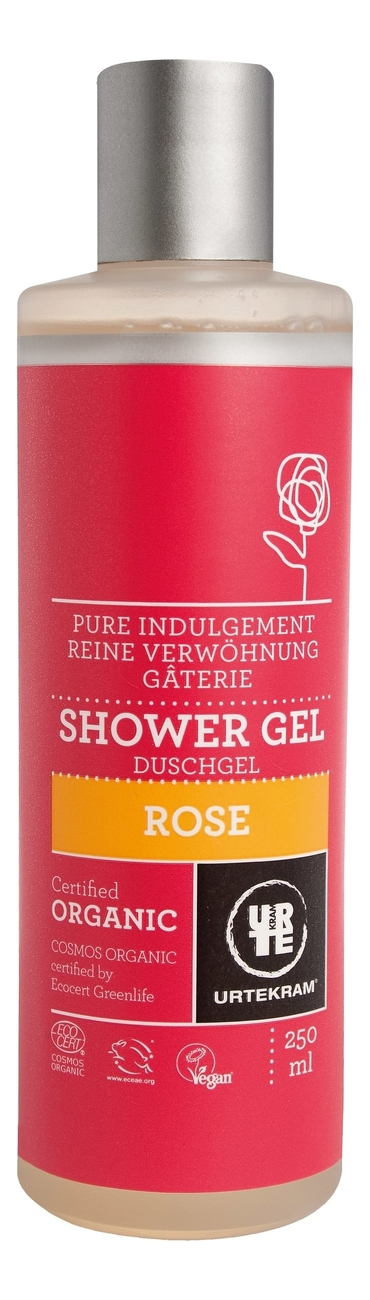 Фото - Гель для душа с экстрактом розы Organic Shower Gel Rose: Гель 250мл гель для душа лаванда lavander shower gel гель 50мл