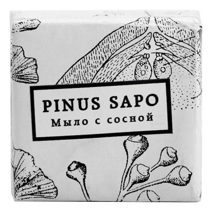 Мыло с сосной и эвкалиптом Pinus Sapo 100г
