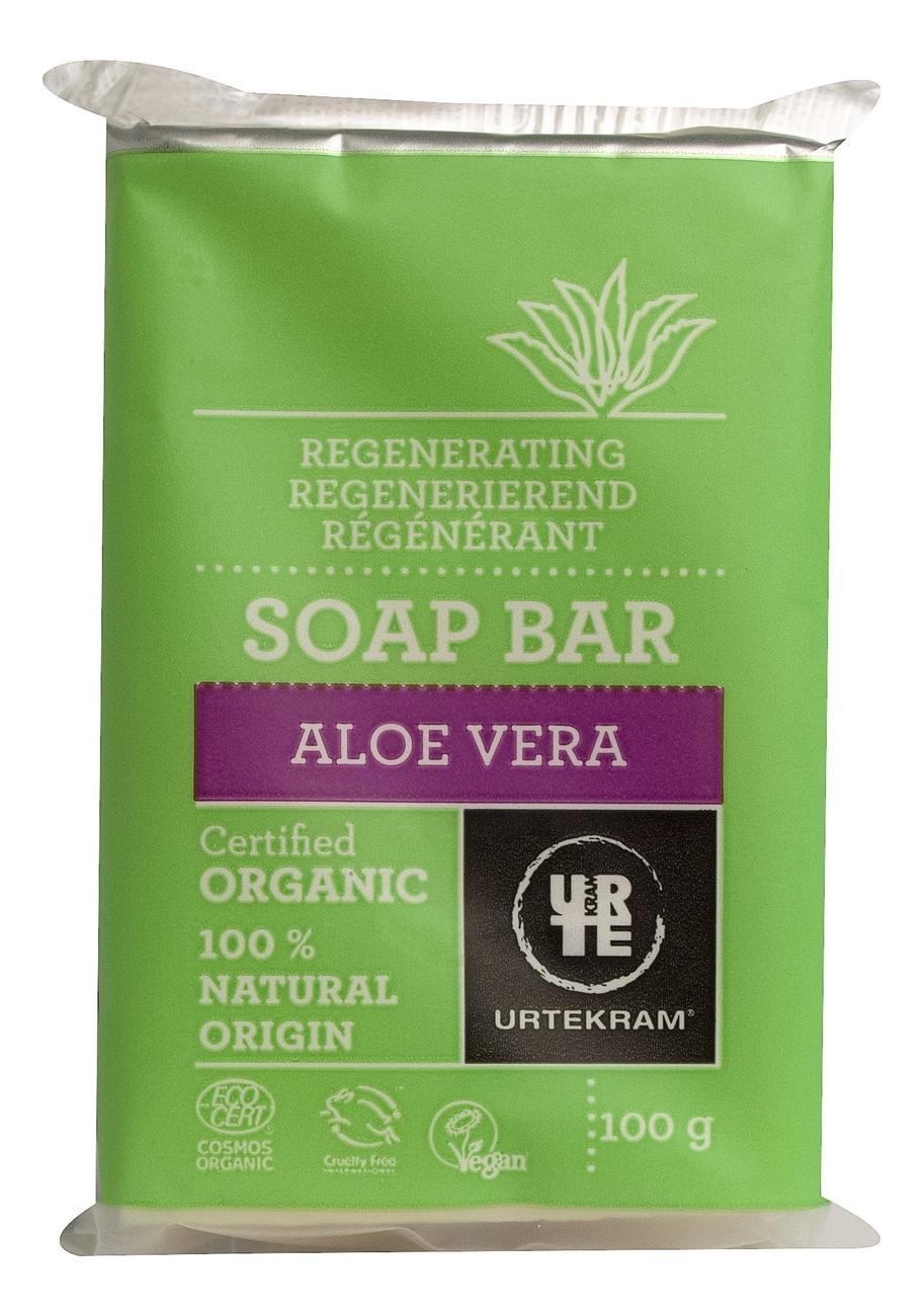 Мыло с экстрактом алоэ вера Organic Soap Bar Aloe Vera: Мыло 100г горячий воск для депиляции с экстрактом алоэ вера aloe vera 100г