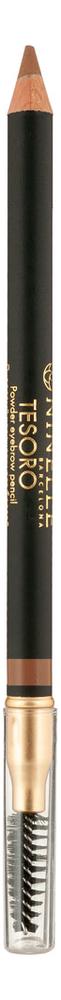 Купить Карандаш для бровей пудровый Tesoro Powder Eyebrow Pencil 1, 19г: No 622, NINELLE