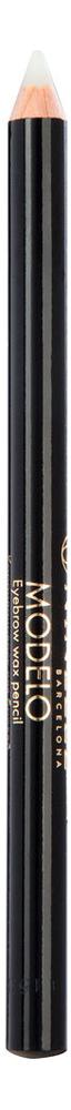 Купить Карандаш-воск для бровей Modelo Eyebrow Pencil Wax 1, 35г: No 600, NINELLE