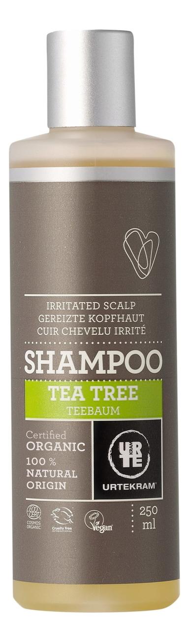 Успокаивающий шампунь для кожи головы с экстрактом чайного дерева Organic Shampoo Tea Tree: Шампунь 250мл