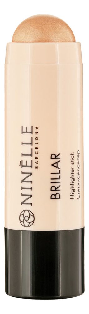Стик-хайлайтер для лица Brillar Highlighter Stick 6г: No 411 кремовый хайлайтер для лица peko jjang melti jelly highlighter 6г no 01