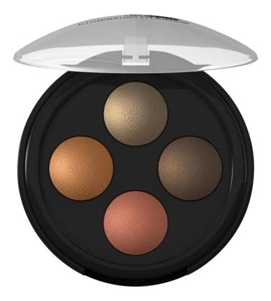 Тени для век Illuminating Eyeshadow Quattro 2г: 03 Индийская Мечта тени для век quattro eyeshadow 2 4г no 632