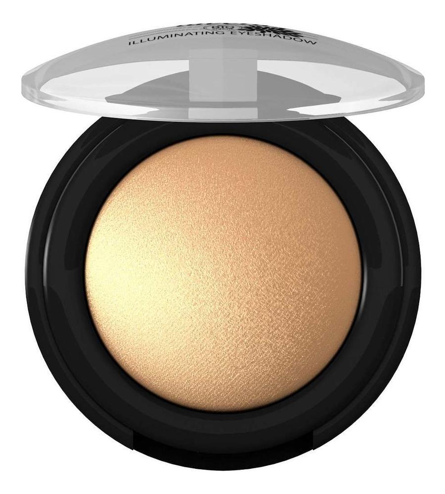 Купить Минеральные запеченые тени для век Illuminating Eyeshadow 1, 5г: 05 Яркое золото, Lavera