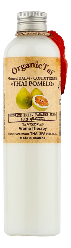 Купить Натуральный бальзам-кондиционер для волос Natural Balm-Conditioner Thai Pomelo 260мл: Бальзам-кондиционер 260мл, Organic Tai