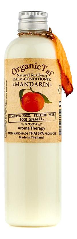 Купить Натуральный укрепляющий бальзам-кондиционер для волос Natural Fortifying Balm-Conditioner Mandarin 260мл: Бальзам-кондиционер 260мл, Organic Tai