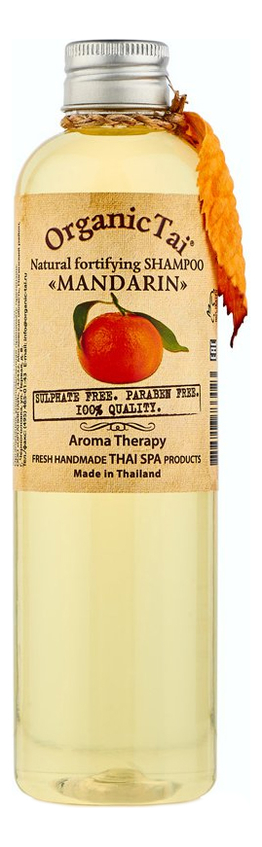 Натуральный укрепляющий шампунь для волос Natural Fortifying Shampoo Mandarin 260мл: Шампунь 260мл шампунь lador triplex natural shampoo отзывы