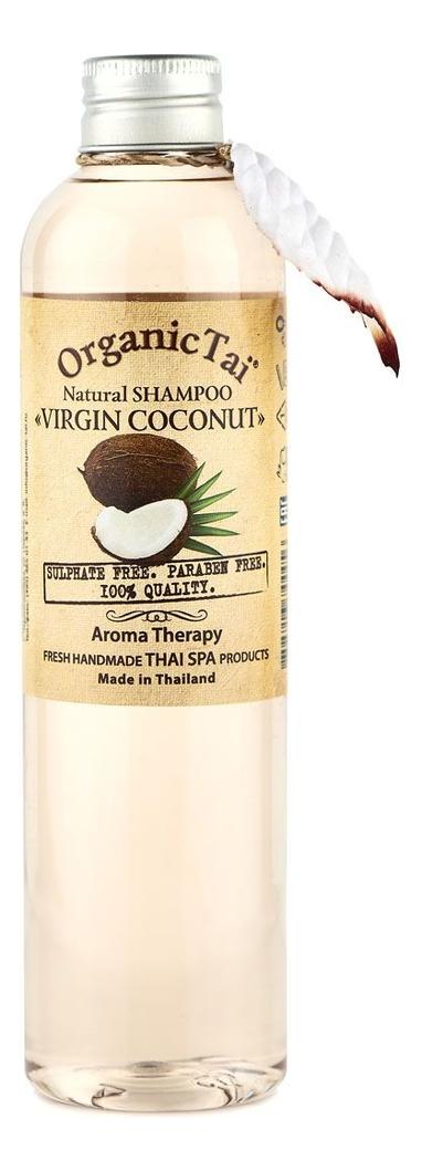 Натуральный шампунь для волос Natural Shampoo Virgin Coconut 260мл: Шампунь 260мл шампунь lador triplex natural shampoo отзывы