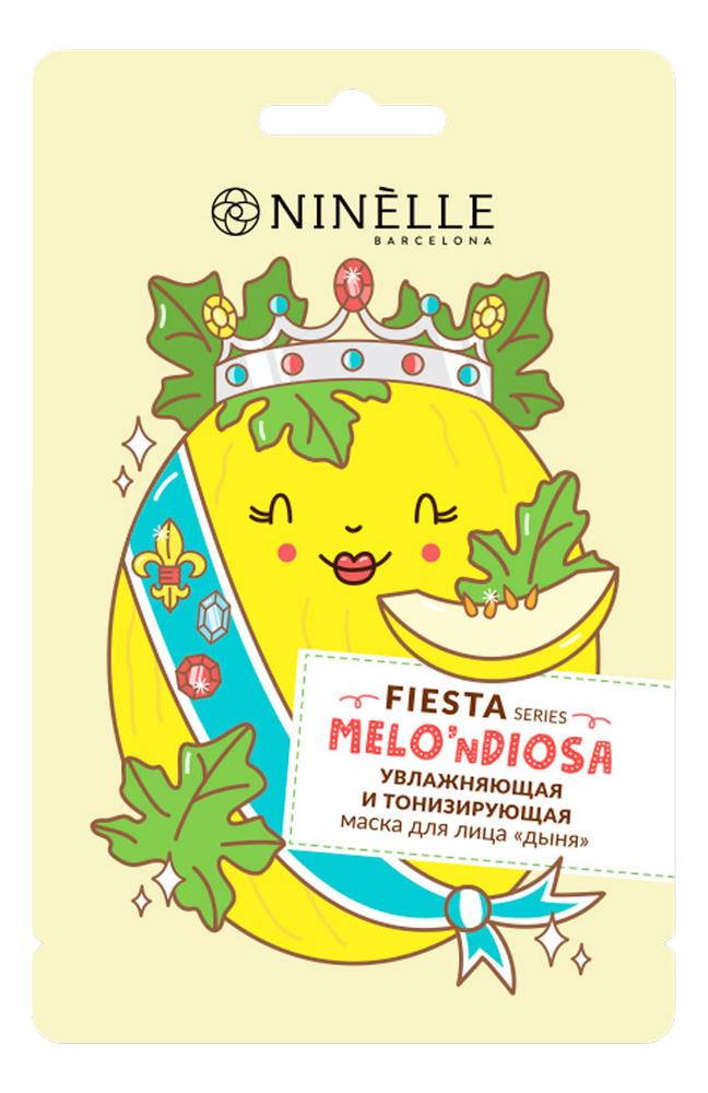 Увлажняющая и тонизирующая маска для лица Дыня Fiesta Melondiosa 20мл