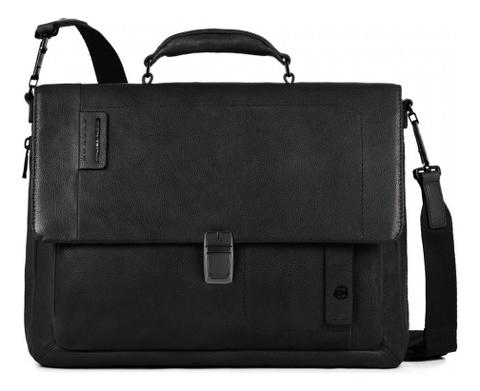 Портфель Pulse CA3111P15S/N кожаный портфель piquadro pulse ca3111p15 ca3111p15 n